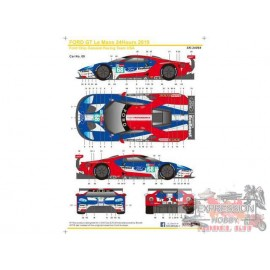 SET DECALQUES 1/24 FORD...