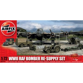 WWII BOMBER RE-SUPPLY SET...